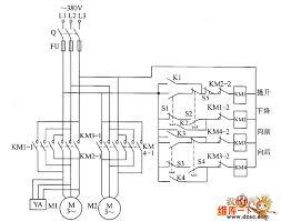 circuits u003e remote control electric hoist control circuit diagram 1