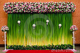 wedding backdrop green green leaf wedding background search projects to try