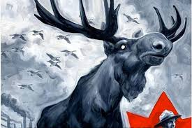 Moose Meme - vindictive canadian moose meme of the day
