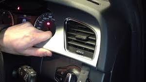 audi dashboard a5 audi a4 s4 b8 speedo and air vent trim removal with a bojo tool