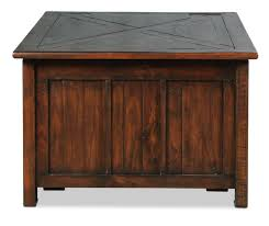 coffee table sauder carson forge coffee oak extendable table