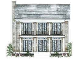 southern house plan with stacked porches 9760al architectural