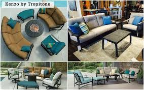 Tropitone Fire Pit by 7 Stylish All Weather Outdoor Sectionals Entertaining Design