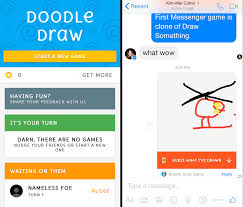 play doodle draw s messenger platform gets its techcrunch