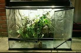 exo terra large glass terrarium 90 x 45 x 60cm u0026 dual top canopy