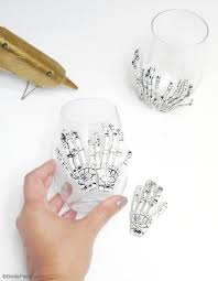 halloween goblets quick u0026 easy halloween party crafts with free printables party