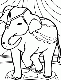 circus tent picture coloring home