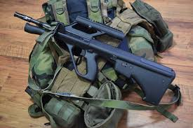 warriors rifle the venerable and modular steyr aug u2022 spotter up