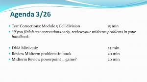 midterm review biology ppt download