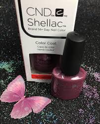 cnd shellac married to mauve 91760 gel color coat l gel nails com