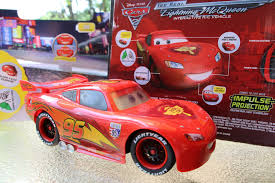 remote control car lights interactive lightning mcqueen r c cars 2 air hogs real talking toy
