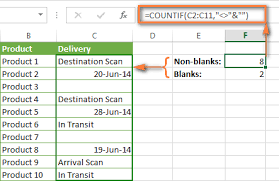 Count Number Of Words In Excel Excel Countif Exles Not Blank Greater Than Duplicate Or Unique
