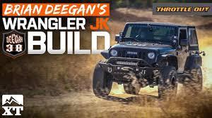 badass blue jeep building brian deegan u0027s badass 2017 jeep wrangler rubicon
