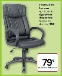 chaise bureau carrefour carrefour promotion fauteuil de bureau produit maison