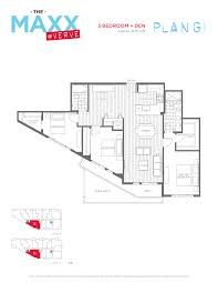 building 3 floor plans verve by porte