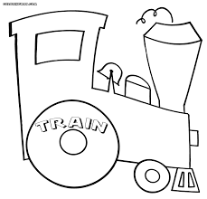 train coloring pages coloring pages to download and print