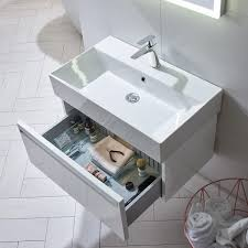 Wall Hung Vanity Unit With Basin Forum Wall Hung Vanity Unit U0026 Basin White 900