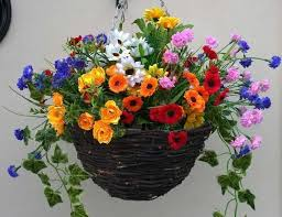 Fake Sunflowers The 10 Most Beautiful Affordable Artificial Hanging Baskets The