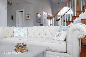 at home chesterfield sofa pottery barn chesterfield sofa review and lower cost alternatives