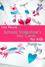 s day cards for school last minute school s day cards for kids card stock and