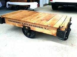 railroad cart coffee table 15 best of railroad cart coffee table