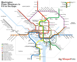 Maps Of Washington Dc by Washington D C Future Transit Map Future Transit Map Of