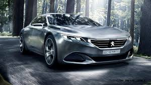 peugeot luxury car 2014 peugeot exalt concept refreshed for paris will future 509