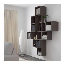 wall mounted cabinets ikea eket wall mounted cabinet combination multicolour ikea