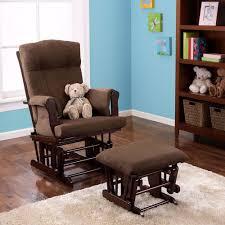 nursery rocking chair with ottoman baby glider wood rocker ottoman chocolate espresso rocking chair