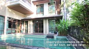 House With Pool House With Pool For Rent At Baan Sansiri Sukhumvit Prakhanong