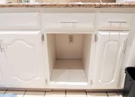 trash can attached to cabinet door inset sink under sink trash can inset dscn1834 talk do or diy