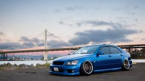 lexus altezza is300 скачать обои as200 altezza is300 blue face wheels xe10