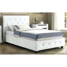 King Platform Bed Frame With Headboard Upholstered Leather Headboard King Platform Bed Real Leather