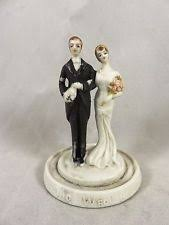 vintage cake topper porcelain wedding cake toppers ebay