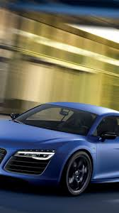 audi r8 wallpaper blue download wallpaper 1440x2560 audi r8 v10 blue side view qhd