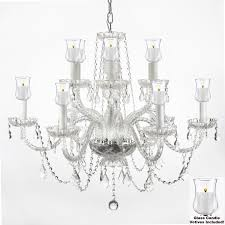 Outdoor Votive Candle Chandelier by G46 B31 275 4 Gallery Murano Venetian Style Crystal Chandelier