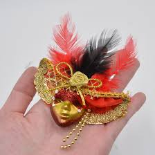 beautiful mardi gras masks masquerade mini masks fridge magnet sticker mardi gras party