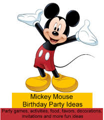 mickey mouse birthday mickey mouse party ideas birthday party ideas for kids