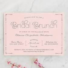 bridal brunch shower invitations blushing brunch bridal shower invitations by reed walker