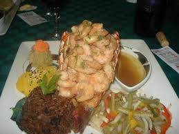 cuisine s 60 top view of lobster yumm picture of varadero 60 varadero