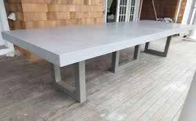 concrete tables for sale there is an unmistakable presence that a concrete table has in a