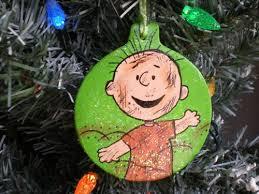 ornament pig pen pigpen peanuts brown 2012 tree