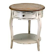 Small Black Accent Table Classic Round Storage End Table Small Round End Table Solid Wood