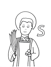 coloring pages saints to color page 4