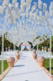 Wedding Aisle Ideas Wedding Decorations 60 Elegant And Smart Ideas Elasdress