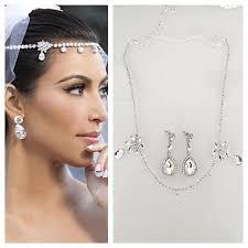 diamond earrings sale sale wedding headpiece earrings set tiara headband
