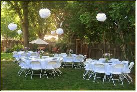 outdoor wedding decorations cheap backyard wedding decoration ideas retrosonik cheap outdoor