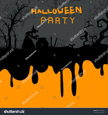 halloween flyer background halloween party night background can be stock vector 151530491