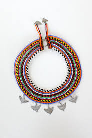 beaded collar necklace images Maasai beaded collar necklace omnia jpg