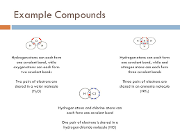 simple covalent compound properties noadswood science ppt download